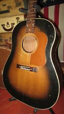 Vintage Original 1949 National Model 1155 Acoustic Dreadnought Guitar W/ OHSC