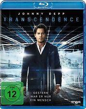 TRANSCENDENCE (Johnny Depp, Rebecca Hall) Blu-ray Disc NEU+OVP