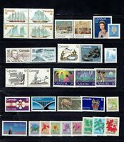 CANADA Postage Stamps, 1977 Complete Year Set collection, Mint NH, See scan