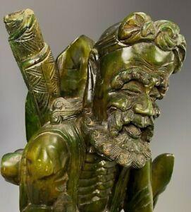 Japan Japanese Carved Wood Tekkai Li Tieh Kuai & Esquire Statue ca. 19-20th c.