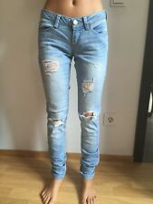 42bb89ca19db Only Jeans Skinny Low Coral hellblau Gr 25 L32 Denim 1% Stretch 1A Zustand