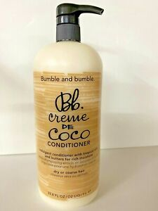 Bumble and bumble Crème De Coco Conditioner 1 Liter 33.8oz for Dry Coarse hair