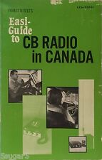 Vintage GUIDE to CB RADIO IN CANADA 1st Ed 40 channel band instruction realistic
