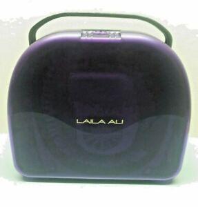 Laila Ali Ionic Dryer Bonnet Hot Cold Hair Portable Case 2 Speed Soft Cap NICE!