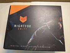 New listing Nightfox Swift Night Vision Goggles w/ Digital Infrared -1x Magnification
