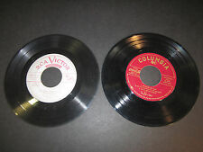 2 45rpm extended play records,Coca Cola, Tony Bennett,Tommy Dorsey,Benny Goodman