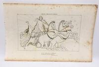 The Iilad Homer Odyssey Engraving John Flaxman 1805 Lampetia Complain to Apollo