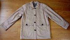 Daxon Ladies Winter Beige Button up Coat Size UK 16 EU 44