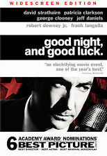 GOOD NIGHT, AND GOOD LUCK , WIDESCREEN LIKE NEW IN ORIGINAL CASE DVD
