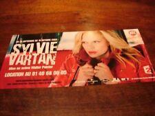 SYLVIE VARTAN - FLYER PALAIS DES CONGRES 2004 !!!!!!!!!