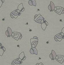 Fat trimestre Sunbonnet Sue quilting Tissu coton - 50 cm x 55 cm-Champignon
