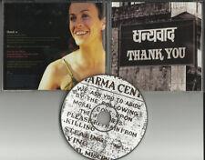 ALANIS MORISSETTE Thank U RARE RADIO PROMO DJ CD Single 1998 you w/ SONG LYRICS