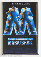 Super Mario Bros FRIDGE MAGNET (2.5 x 3.5 inches) movie poster bob hoskins