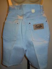Nos Western 1950 60s Laredo HighWaist Rise Blue Jeans Shorts Rockabilly Vintag12