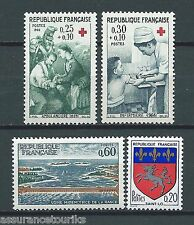 FRANCE - 1966 YT 1507 à 1510 - TIMBRES NEUFS** LUXE