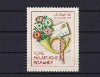 lausanne 1947 philatelic   mint never hinged advertising stamp ref r13921