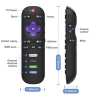 TCL Roku Smart TV Replacement Remote with Volume Control RC280 ⭐️