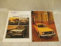 Volvo Car Sales Brochures 1976 1977 Vintage Automotive