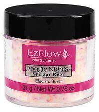 EzFlow Boogie Night Acrylic Powder Electric Burst 0.75oz - 42303