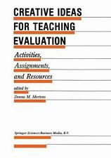 Evaluation in Education and Human Services Ser.: Creative Ideas for Teaching...