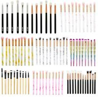 Pro Eye Makeup Brushes Set Kits Blending Eyeshadow Brow Lip Cosmetic Brush Tool