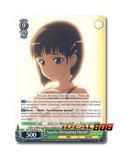 Weiss Schwarz Sword Art Online x 4 Suguha Persuading Herself [SAO/S20-E032 U] En