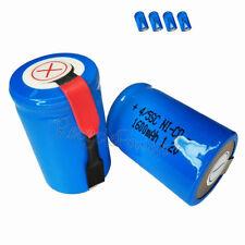 Piles rechargeables Sub-C nicd pour équipement audio et vidéo