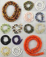Natural Moonstone Rose Quartz Carnelian Round Shape Beads Handmade Necklace