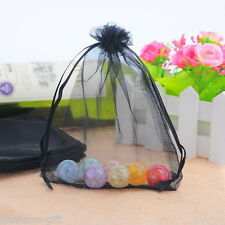 50 Drawable Organza Wedding Gift Bags &Pouches 16x13cm