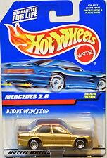 HOT WHEELS 1998 MERCEDES 2.6 #605