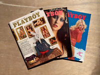 Playboy's magazines 1975 1976 Lot Of 24. Complete Issues 75 76