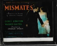 Mismates 1926 Vintage Glass Slide (No Frame) Doris Kenyon Warner Baxter
