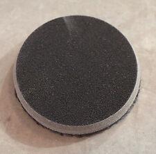 "7.5"" Black Microfiber Flat Polishing Pad Use w/ Wax & Orbital Polisher: 620MFP"
