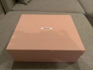 100% Authentic Miu Miu Shoe Box (1002)