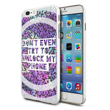 Unlock My Phone Design Hard Back Case Cover Skin For Various Phones