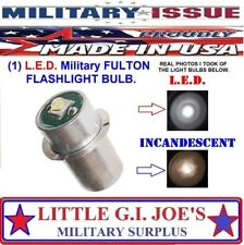 1W LED Upgrade Bulb for U.S. Army and Military MX-991 3 Volt 2-Cell Flashlight