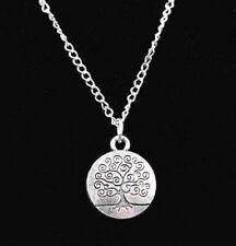 Idée cadeau bijoux fantaisie Saint Valentin collier pendentif arbre de vie
