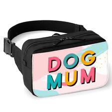 Spoilt Rotten Pets Dog Mum Memphis Retro Style Walking, Bum or Hip Bag Dog Walk