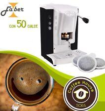MACCHINA DA PER CAFFE FABER SLOT PLAST CON 50 CIALDE FILTRO CARTA  IN OMAGGIO