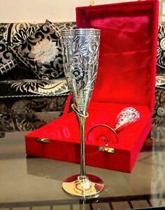 Wine Goblets, Wine Glass Set, Goblet Glass Set, Wine Glass Set, Brass Decor
