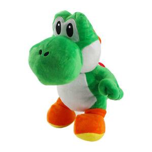 33cm Super Mario Yoshi Dinosaur Plush Stuffed Doll Toy Kids Gift
