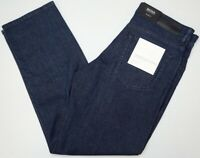 NWT $178 HUGO BOSS Relaxed Fit JEANS MENS Albany 50394996 Cashmere Touch Blue