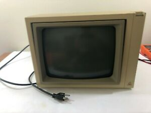 Vintage Apple A2M2010 Green Phosphor Monitor