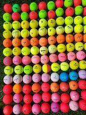 120 Colored Golf Balls Titleist, Callaway, Bridgestone, SRIXON  AAAAA Wild Color