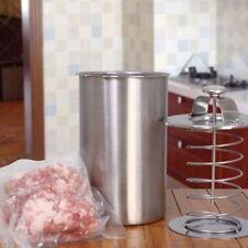 1 Liter Stainless Steel Ham Press Maker Pot Pressure Cooker & Thermometer Boiler