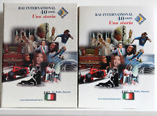 RAI INTERNATIONAL 40 ANNI Una storia cofanetto libro video cd cdrom RAI 2003