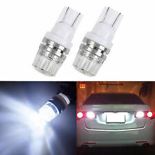 2pcs T10 W5W 360° LED White Bulbs License Plate car Lights For Honda Civic
