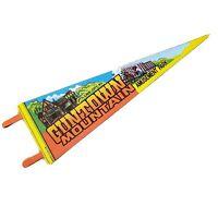Vintage Guntown Mountain Cave City KY Felt Pennant Amusement Park RARE Souvenir