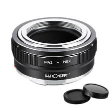 K&F Concept adapter mark II for M42 mount lens to Sony E NEX a5000 A7II,A7R A7R3