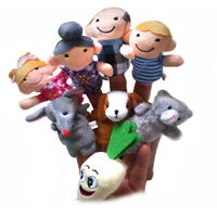 8pc/set Funny Finger Puppets Baby Educational Hand The Enormous Turnip Toys